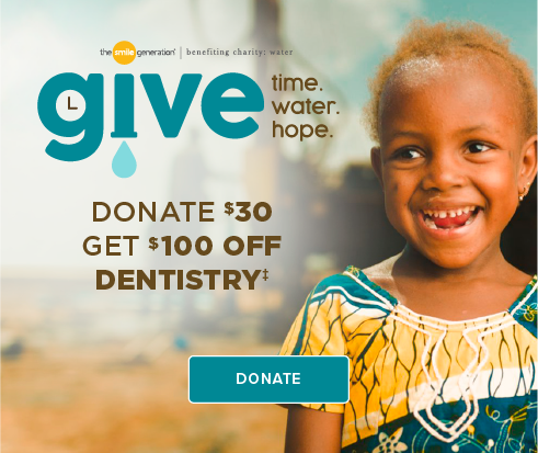 Donate $30, Get $100 Off Dentistry - Tomball Smiles Dentistry